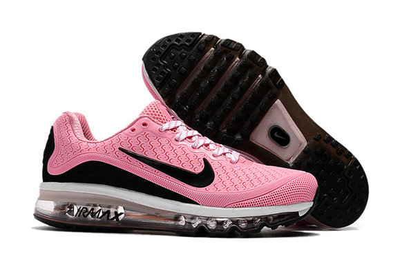 Wholesale Cheap Nike Air Max 2017 Womens Rubber Patch Pink White Black - www.wholesaleflyknit.com