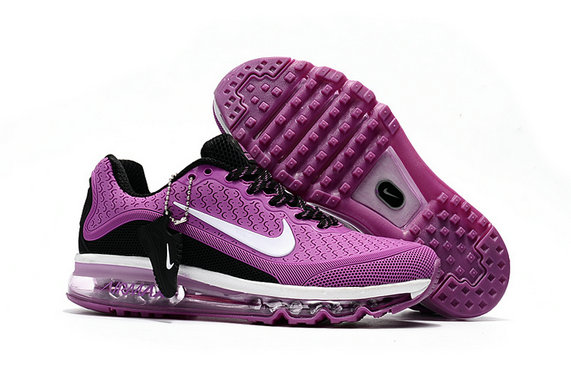 Wholesale Cheap Nike Air Max 2017 Womens Rubber Patch Purple White Black - www.wholesaleflyknit.com