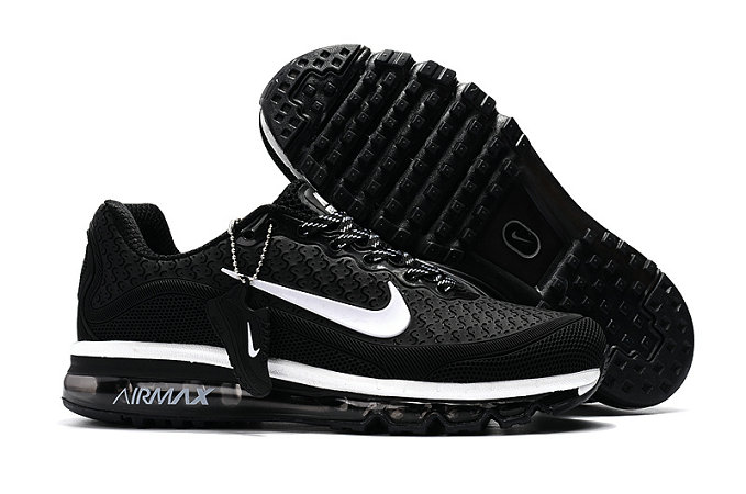 Wholesale Cheap Nike Air Max 2017 Womens Rubber Patch White Black - www.wholesaleflyknit.com