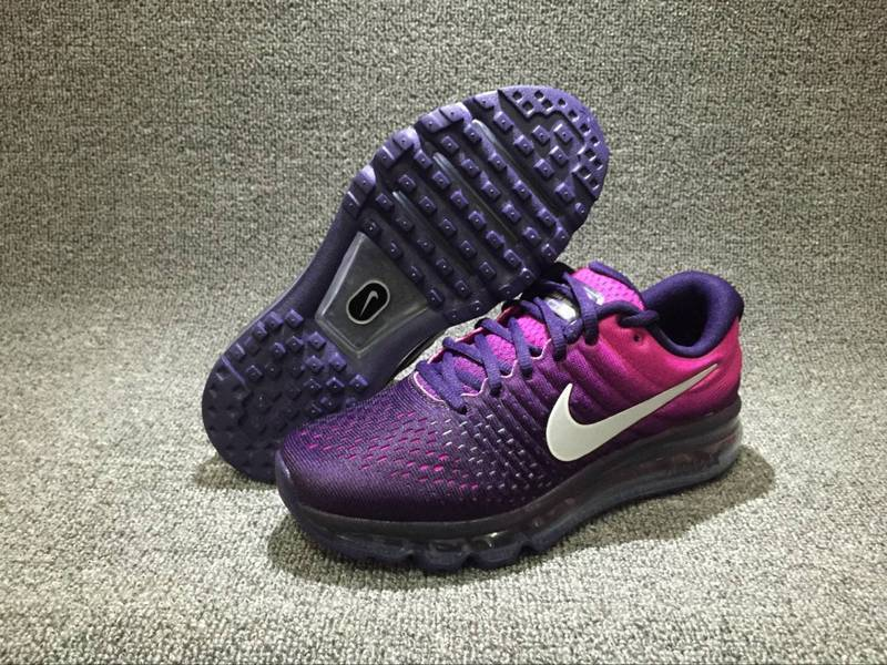 Wholesale Cheap Nike Air Max 2017 Womens Running Shoes Purple Pink Black - www.wholesaleflyknit.com