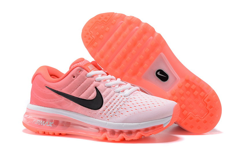 Wholesale Cheap Nike Air Max 2017 Womens Watermelon Red White Running Shoes - www.wholesaleflyknit.com