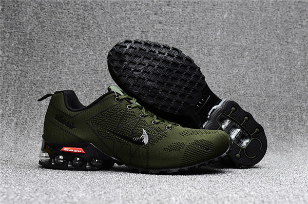 Wholesale Cheap Nike Air Max 2018 Ultra Zoom Army Green Black Running Shoes - www.wholesaleflyknit.com