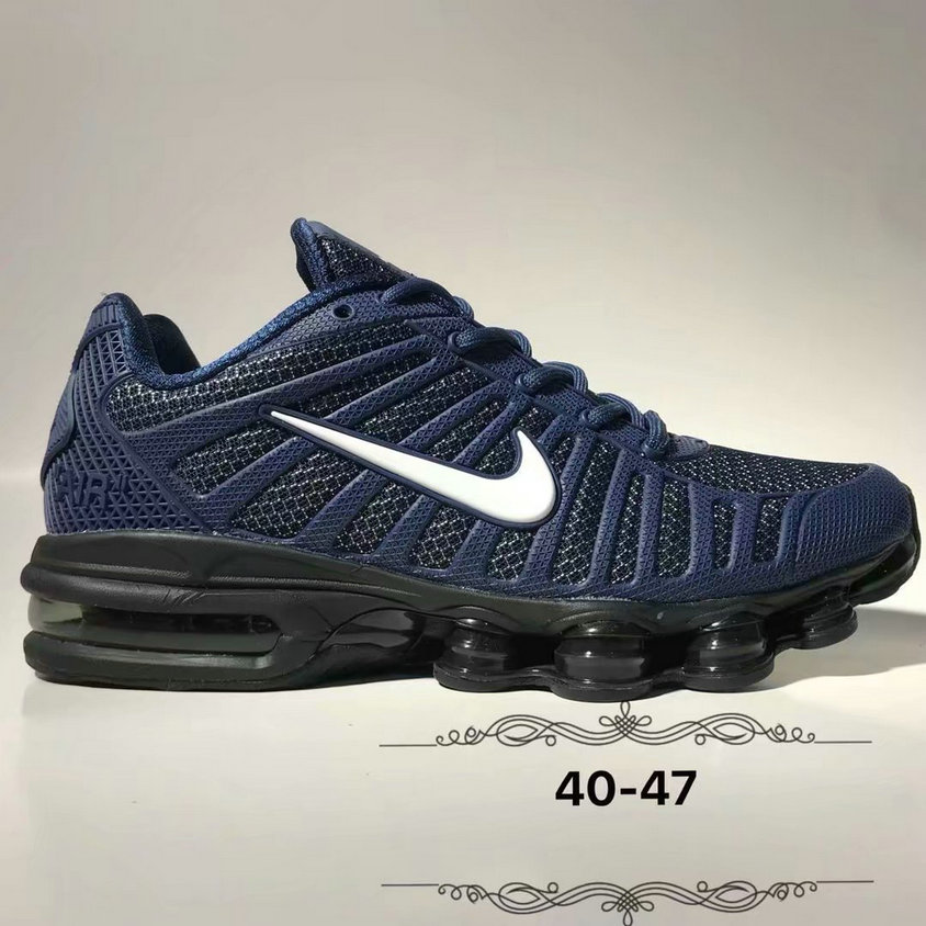 Wholesale Cheap Nike Air Max 2019 Cushion Mens Navy Blue White Black-www.wholesaleflyknit.com