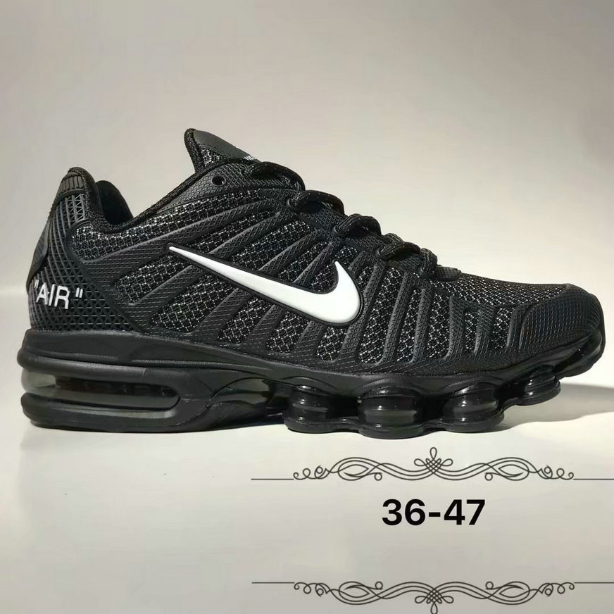 Wholesale Cheap Nike Air Max 2019 Cushion Mens OFF WHITE Black White-www.wholesaleflyknit.com