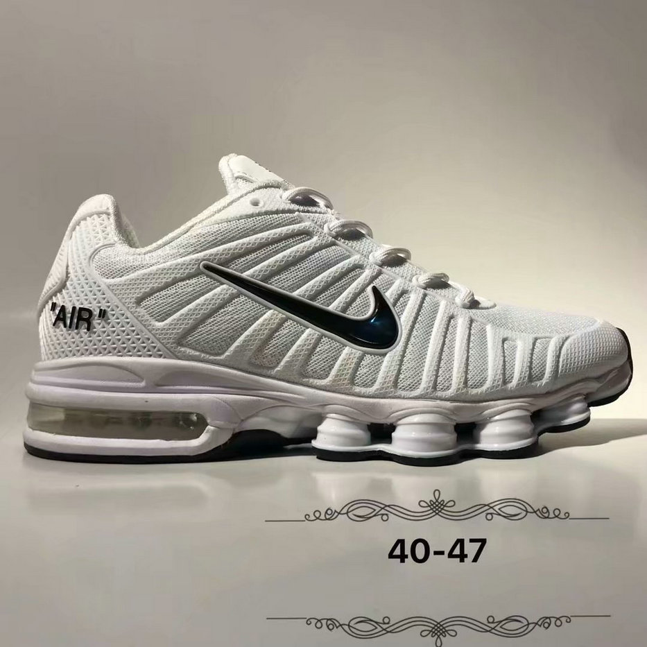 Wholesale Cheap Nike Air Max 2019 Cushion Mens White Black-www.wholesaleflyknit.com