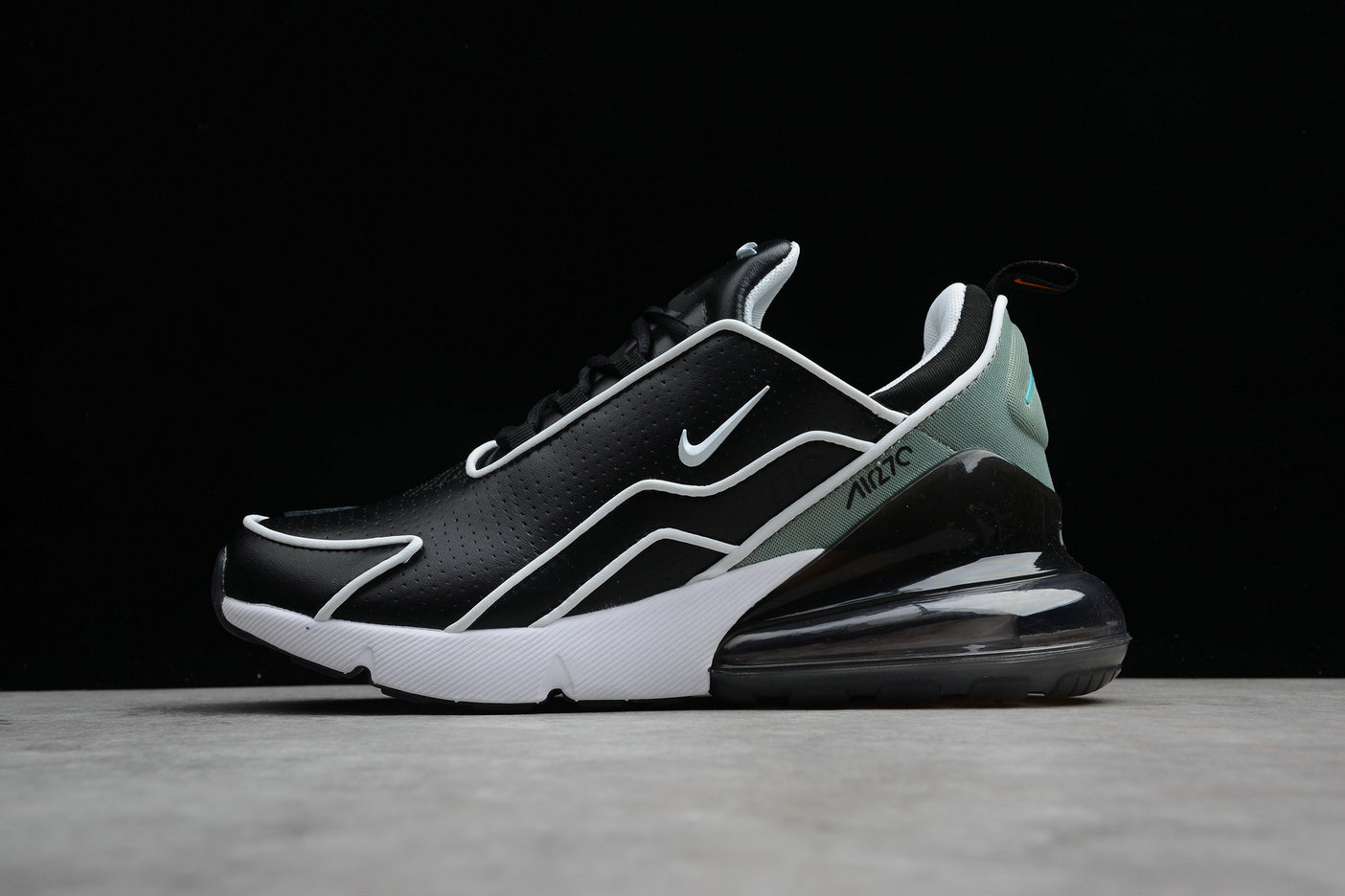 Cheap Wholesale Nike Air Max 270 Flyknit AH8060-001 Black Charcoal Noir Charbon- www.wholesaleflyknit.com