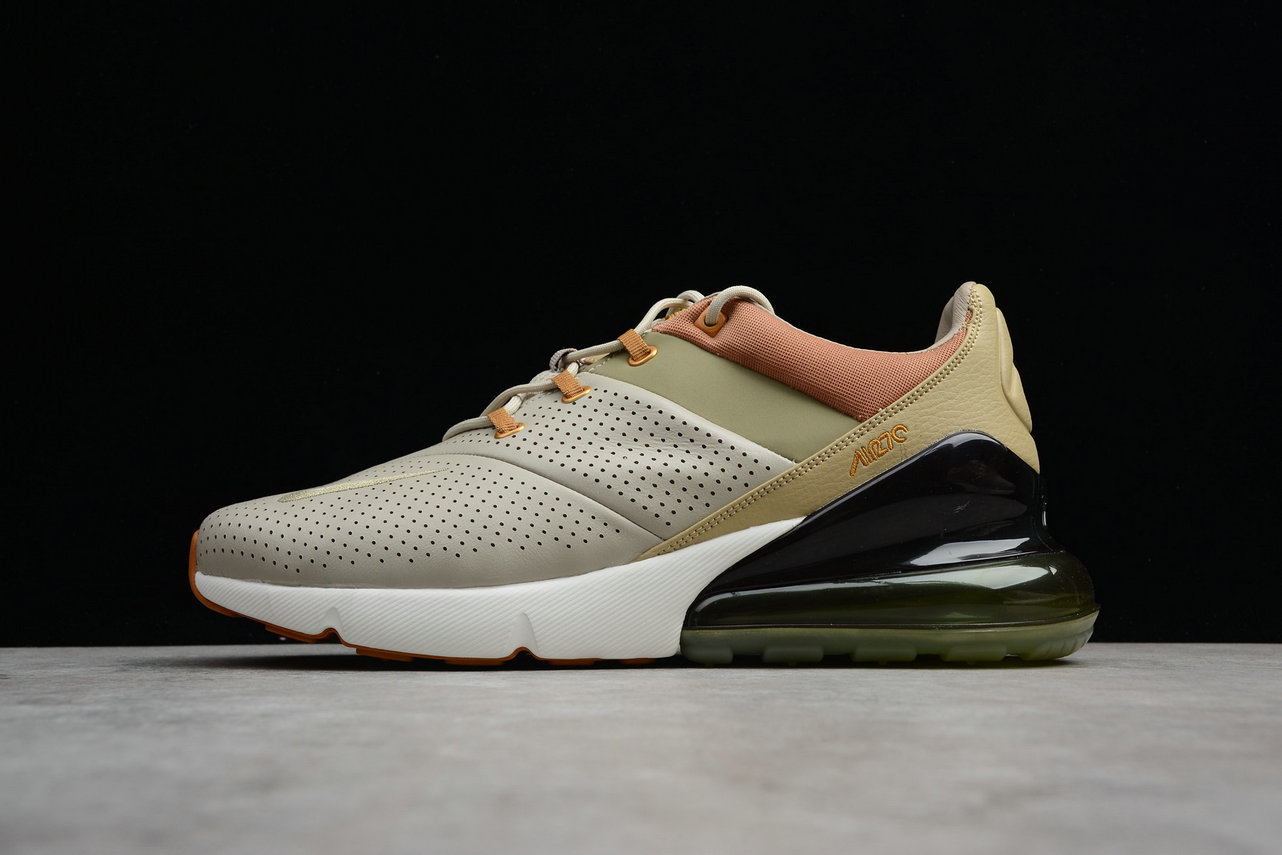 Cheap Wholesale Nike Air Max 270 Premium AO8283-200 Running Shoes String Desert Ochre Ficelle Ocre DU Desert- www.wholesaleflyknit.com