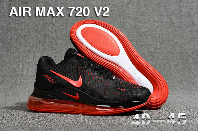 Wholesale Cheap Nike Air Max 270 x Air Max 720 Red Black-www.wholesaleflyknit.com