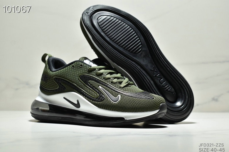 Cheapest Wholesale Nike Air Max 720 PRM Army Green Black White - www.wholesaleflyknit.com