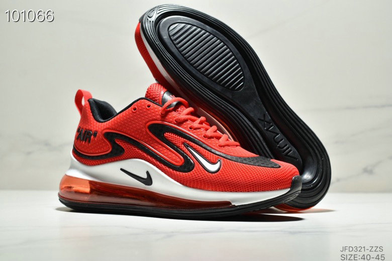 Cheapest Wholesale Nike Air Max 720 PRM Fire Red Black White - www.wholesaleflyknit.com
