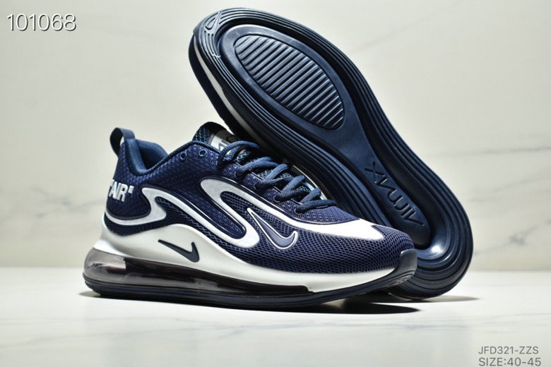 Cheapest Wholesale Nike Air Max 720 PRM Navy Blue White - www.wholesaleflyknit.com
