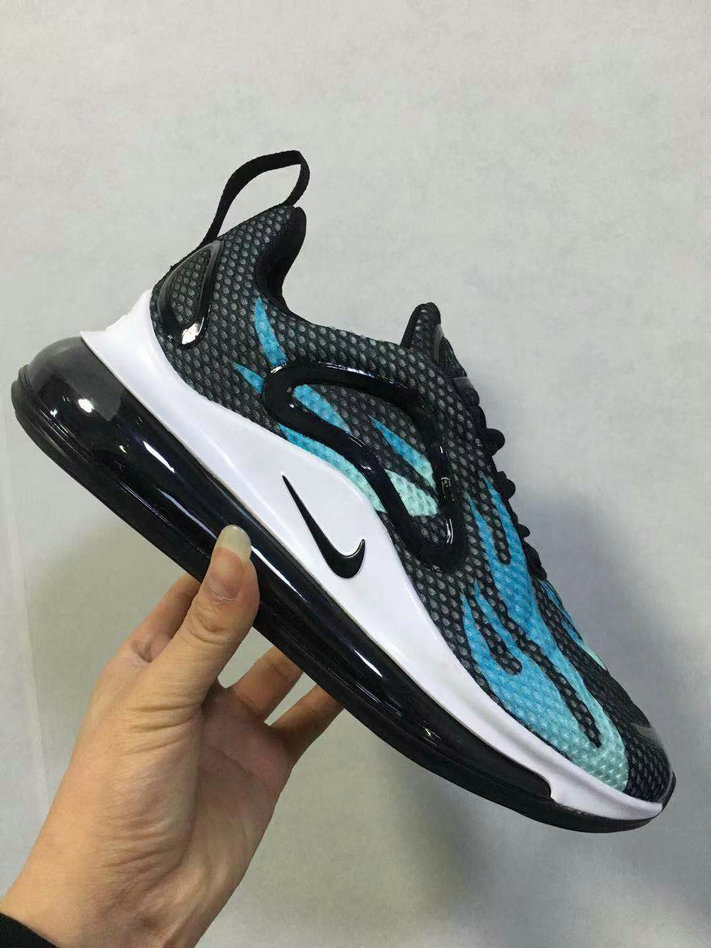 Wholesale Cheap Nike Air Max 720 Premium Womens Blue White Black-www.wholesaleflyknit.com
