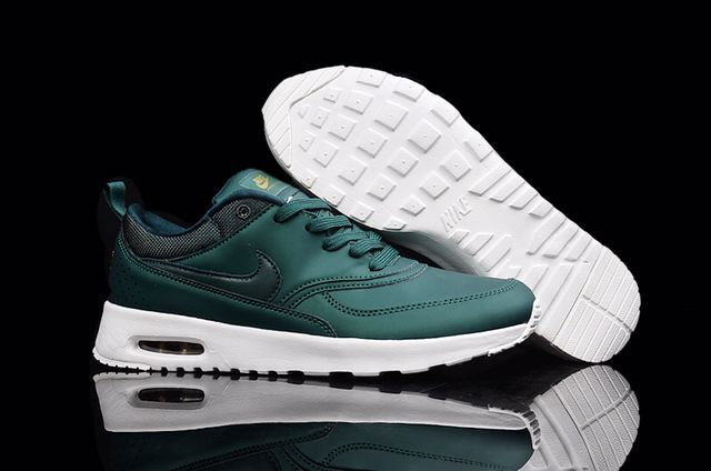 Wholesale Cheap Nike Air Max 87 Mens Leather Blackish green - www.wholesaleflyknit.com