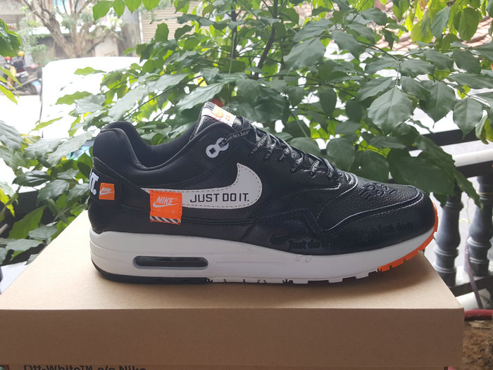 Cheap Wholesale Nike Air Max 90 x Air Max 87 Fushion Black Orange White On www.wholesaleoffwhite.com