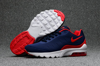 Wholesale Cheap Nike Air Max 95 Rubber Patch Blue Red White - www.wholesaleflyknit.com