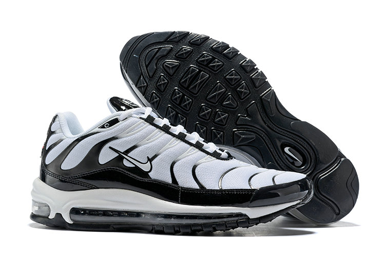 Cheap Wholesale Nike Air Max 97 Plus Max TN White Black- www.wholesaleflyknit.com