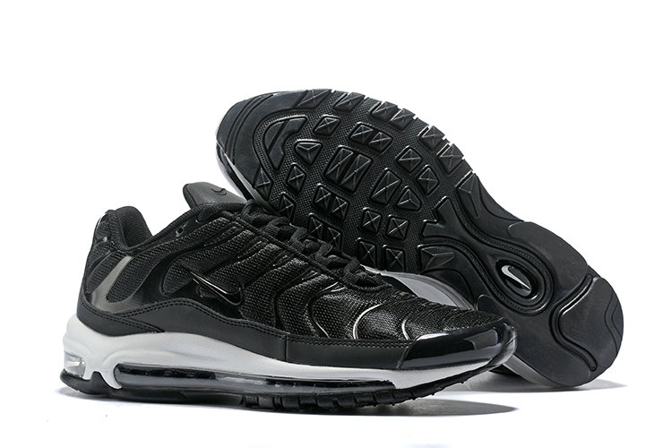 Wholesale Cheap Nike Air Max 97 Plus TN Womens Black White-www.wholesaleflyknit.com