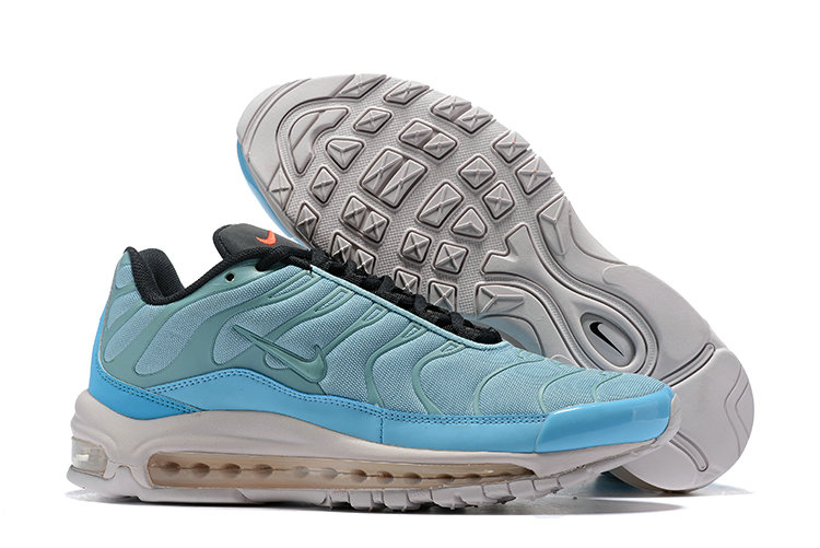 Wholesale Cheap Nike Air Max 97 Plus TN Womens Light Blue White-www.wholesaleflyknit.com