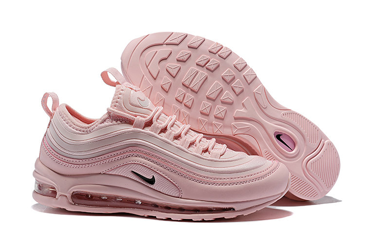 Cheap Wholesale Nike Air Max 97 Running Shoes Triple Pink- www.wholesaleflyknit.com