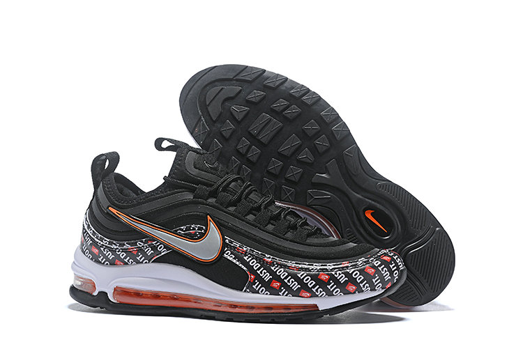 pretty nice 5d4e1 e5228 Cheap Wholesale Nike Air Max 97 UL 17 SE Just Do It Black Orange Grey White
