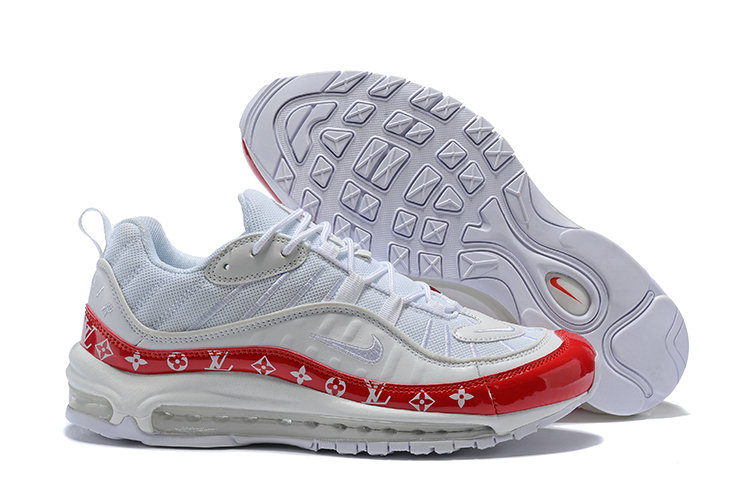 new concept c6bb8 4f240 Cheap Wholesale Nike Air Max 98 Supreme University Red White-  www.wholesaleflyknit.com