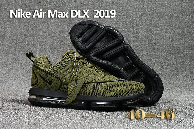 Wholesale Cheap Nike Air Max DLX 2019 Army Green Black Running - www.wholesaleflyknit.com