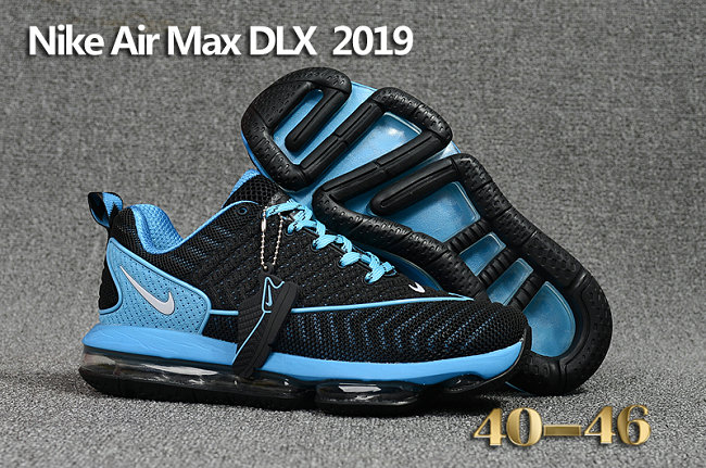 Wholesale Cheap Nike Air Max DLX 2019 Blue Black Running - www.wholesaleflyknit.com
