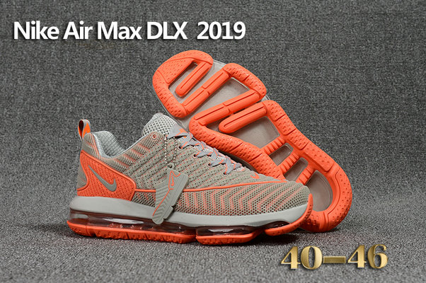 Wholesale Cheap Nike Air Max DLX 2019 Orange Grey Running - www.wholesaleflyknit.com