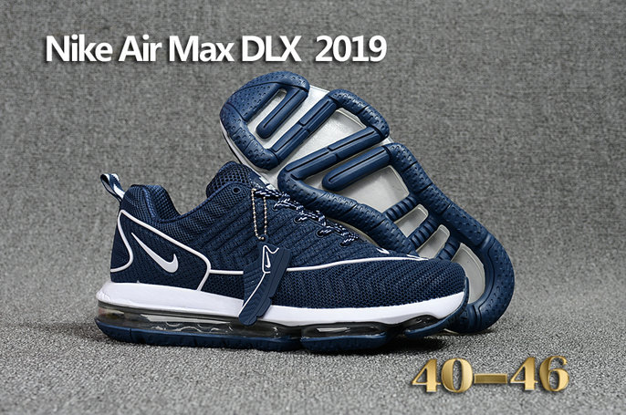 Wholesale Cheap Nike Air Max DLX 2019 White Blue Running - www.wholesaleflyknit.com