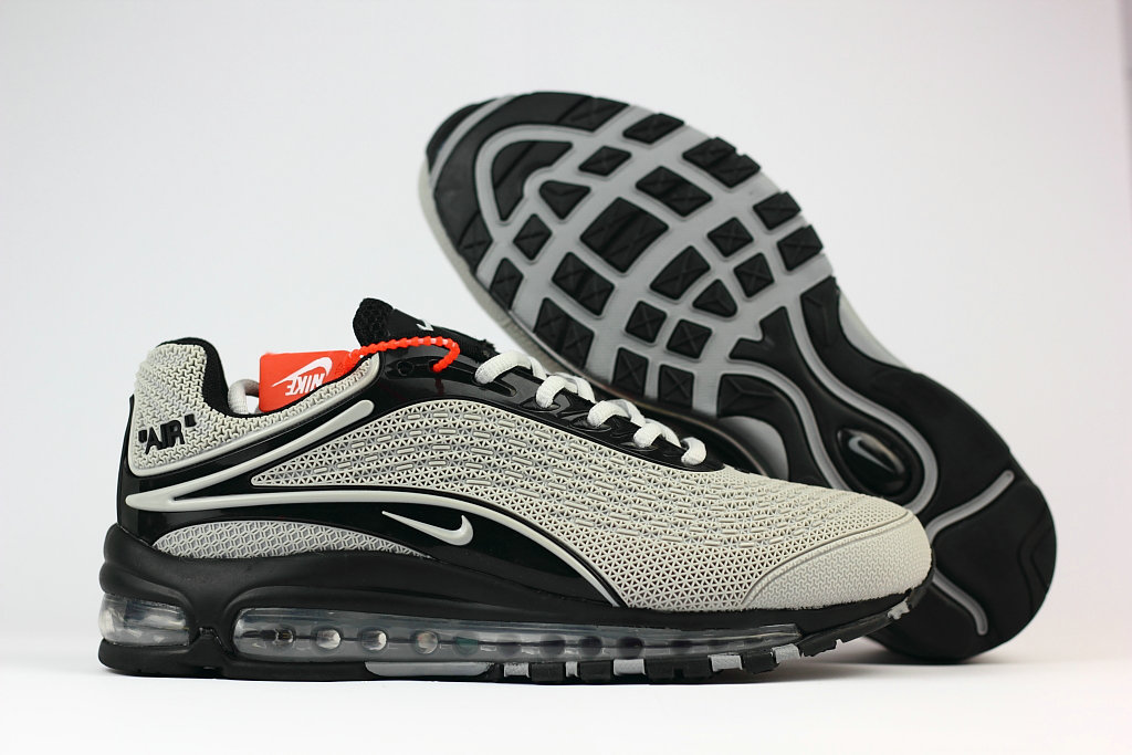 Cheap Wholesale Nike Air Max Deluxe 2019 Grey Black Running Shoes- www.wholesaleflyknit.com