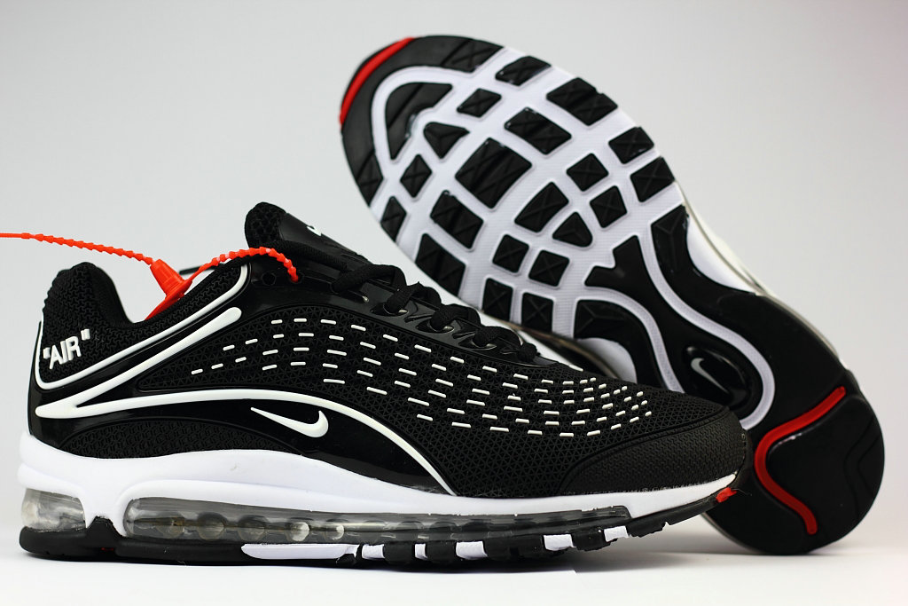 Cheap Wholesale Nike Air Max Deluxe 2019 White Black Running Shoes- www.wholesaleflyknit.com