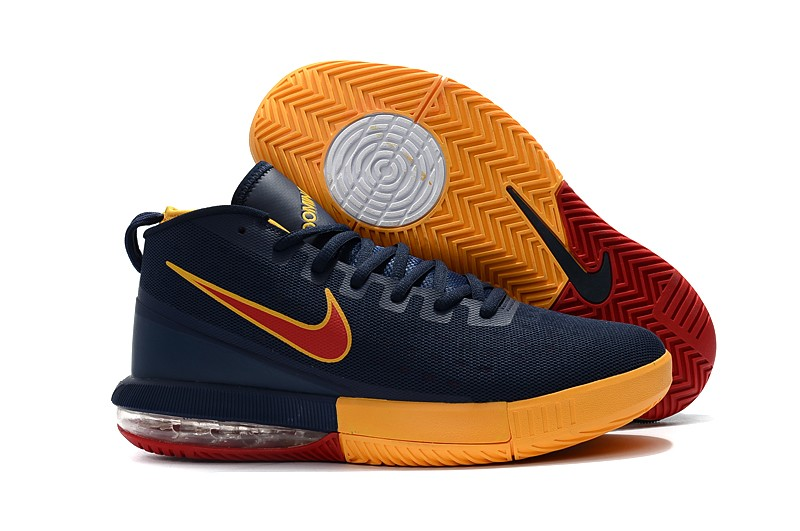 Wholesale Cheap Nike Air Max Dominate EP Cavs Navy Blue Yellow-Burgundy - www.wholesaleflyknit.com