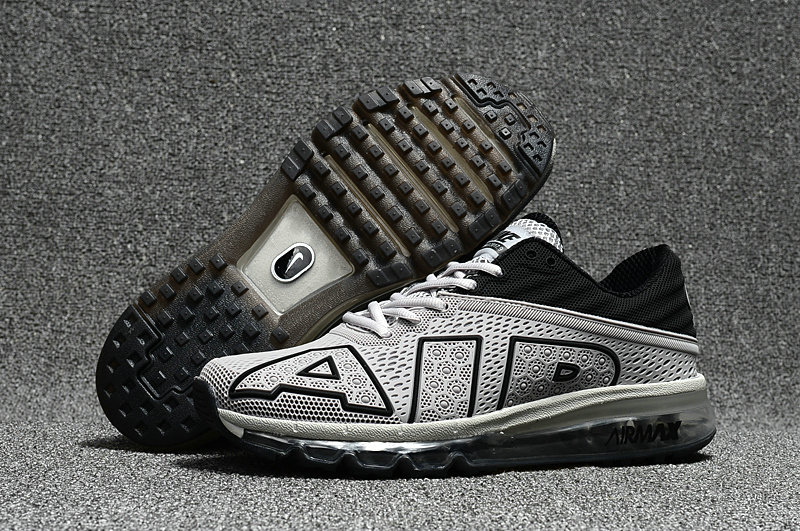 Wholesale Cheap Nike Air Max Flair 2017 Mens Grey Black Sneakers - www.wholesaleflyknit.com