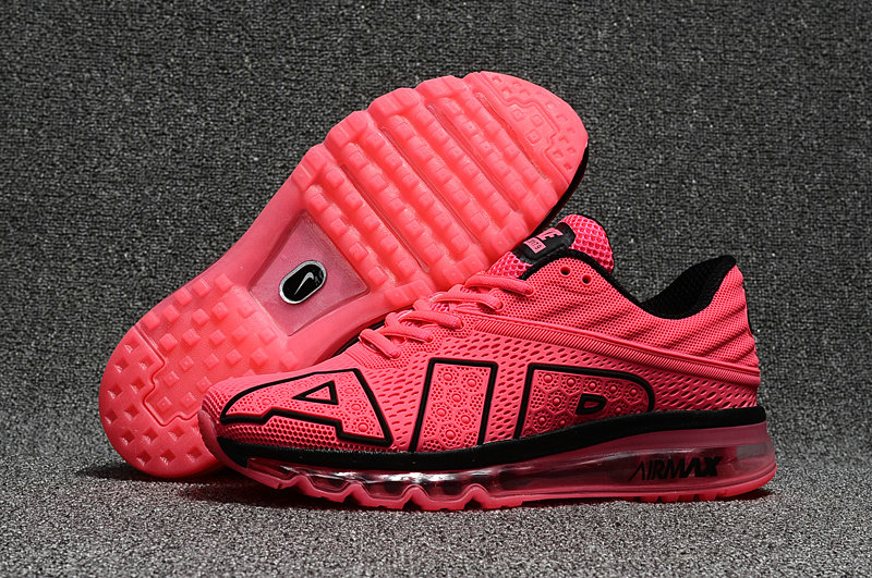Wholesale Cheap Nike Air Max Flair 2017 Mens Pink Black Sneakers - www.wholesaleflyknit.com