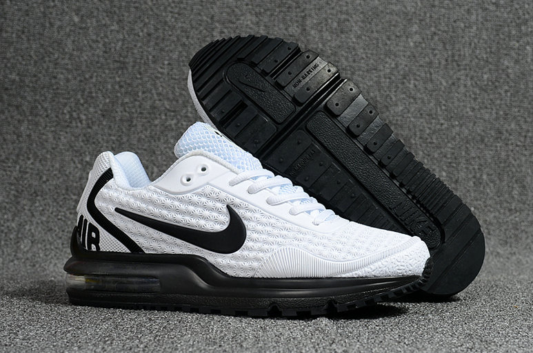 Cheap Wholesale Nike Air Max LTD Black White Running Shoes- www.wholesaleflyknit.com