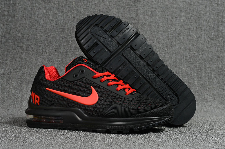 Cheap Wholesale Nike Air Max LTD Red Black Running Shoes- www.wholesaleflyknit.com