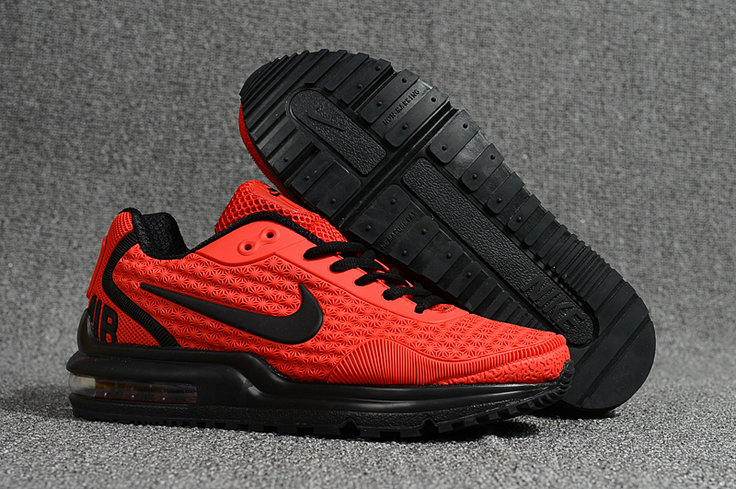 Cheap Wholesale Nike Air Max LTD University Red Black Running Shoes- www.wholesaleflyknit.com