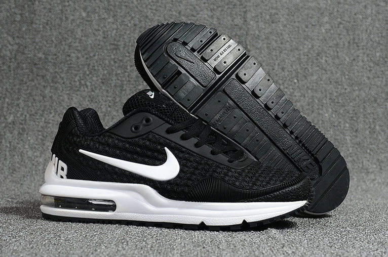 Cheap Wholesale Nike Air Max LTD White Black Running Shoes- www.wholesaleflyknit.com