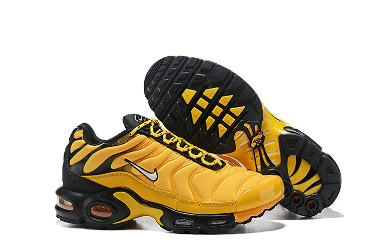 Wholesale Cheap Nike Air Max Plus 2019 New Arrival Yellow Black-www.wholesaleflyknit.com