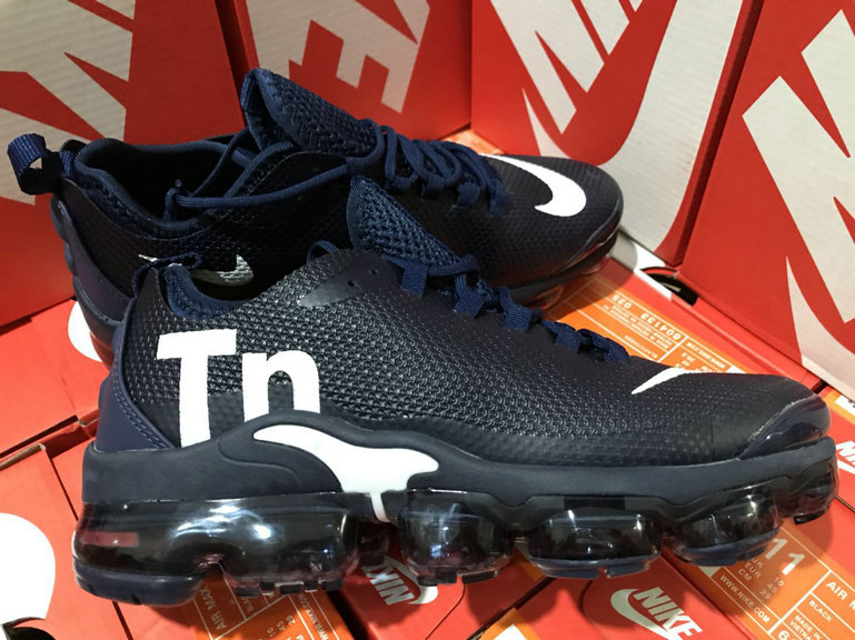 Cheap Wholesale Nike Air Max TN Plus VaporMax Navy Blue White- www.wholesaleflyknit.com