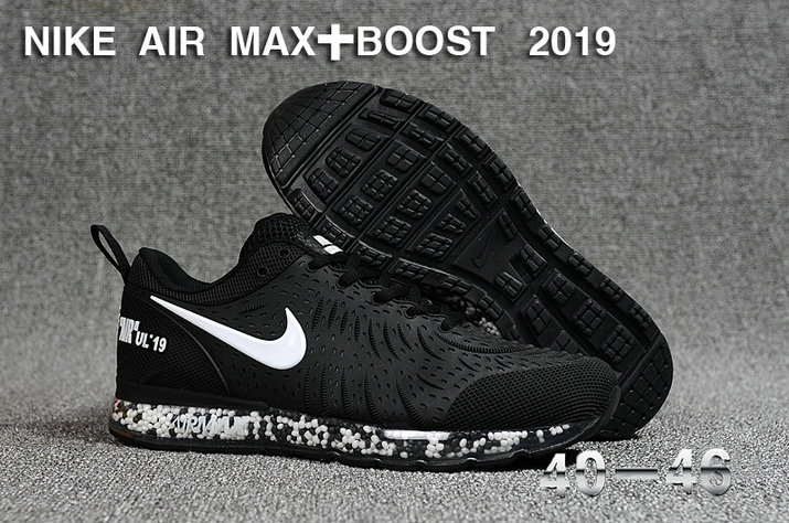 Wholesale Cheap Nike Air Max UL 19 Boost 2019 White-Black-www.wholesaleflyknit.com