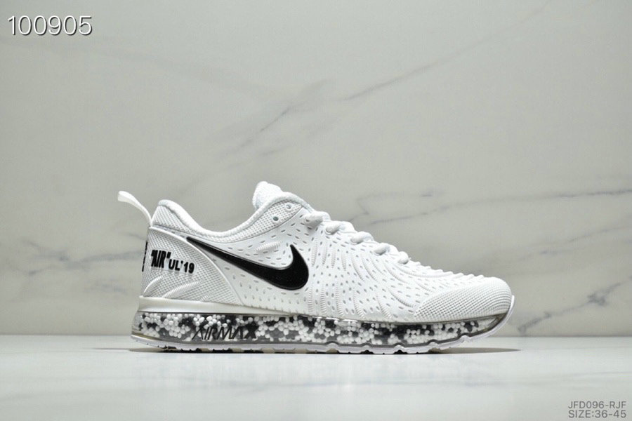 Wholesale Cheap Nike Air Max UL 19 Boost 2019 Womens White Black-www.wholesaleflyknit.com