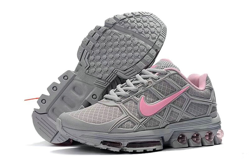 Wholesale Cheap Nike Air Maxs 2019 Womens Cold Grey Pink-www.wholesaleflyknit.com