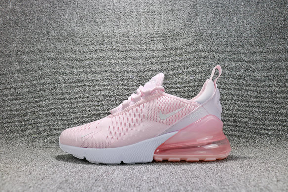 4e890445b4 Cheap Wholesale Nike Air Maxs 270 Womens Pink White Rose Blanc On  www.wholesaleoffwhite.