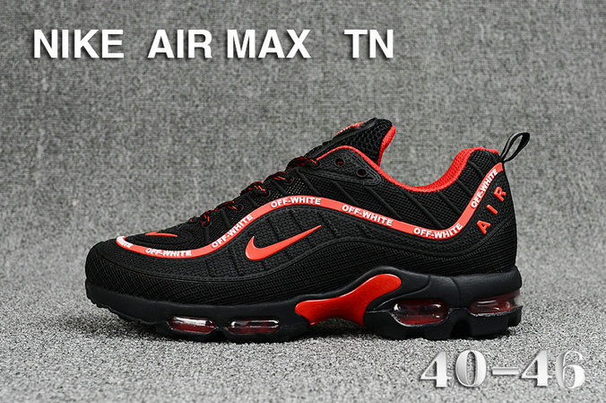 new style 01df0 09df4 Wholesale Cheap Nike Air Maxs TN OG Black Red 2019 New Arrival-www .wholesaleflyknit
