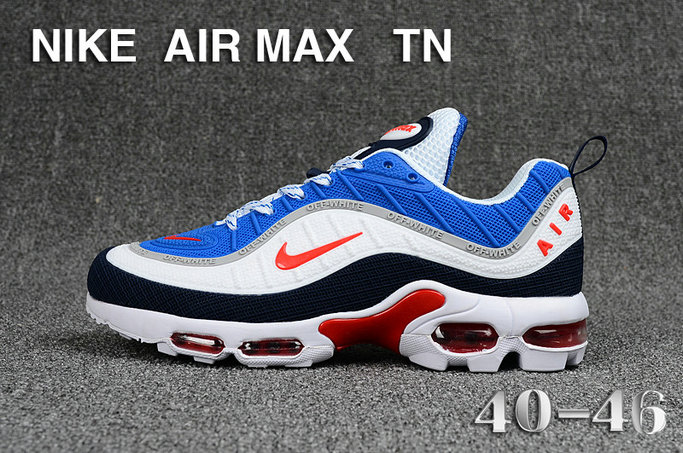 pretty nice 8be74 24346 Wholesale Cheap Nike Air Maxs TN OG Blue Red White 2019 New Arrival-www.