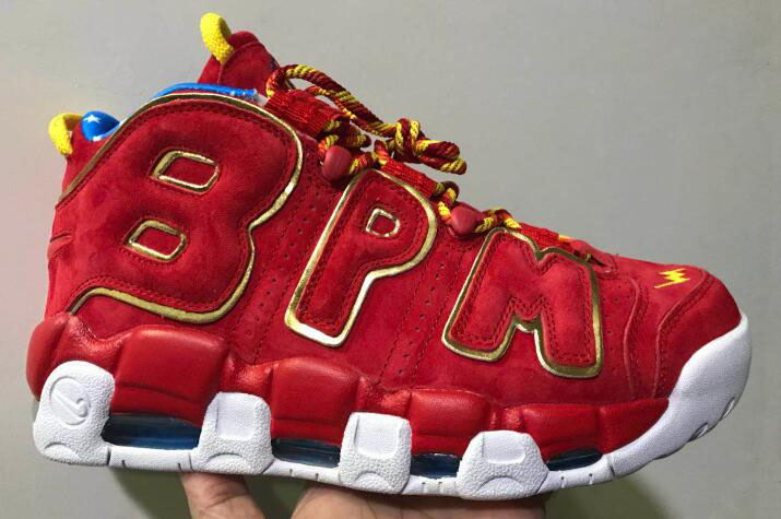 Wholesale Cheap Nike Air More Uptempo Doernbecher Red Suede Gold For Sale - www.wholesaleflyknit.com