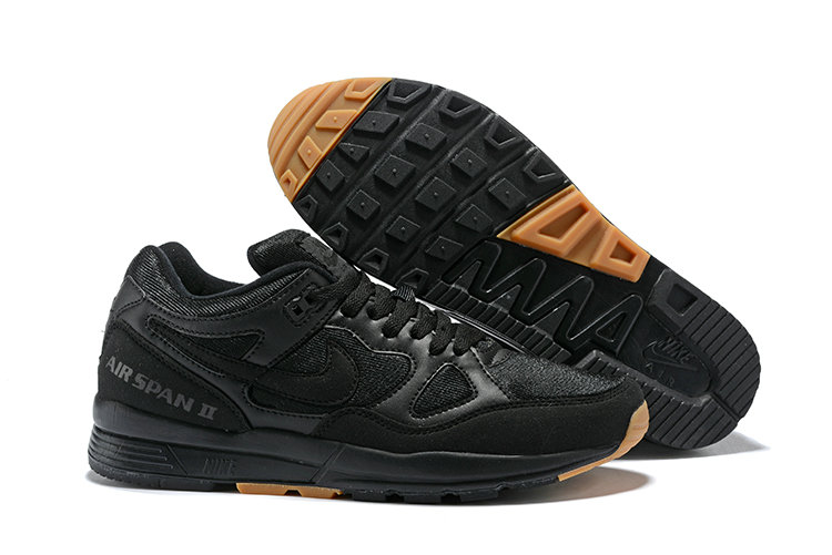 Cheapest Wholesale Nike Air Span II Gold Black - www.wholesaleflyknit.com