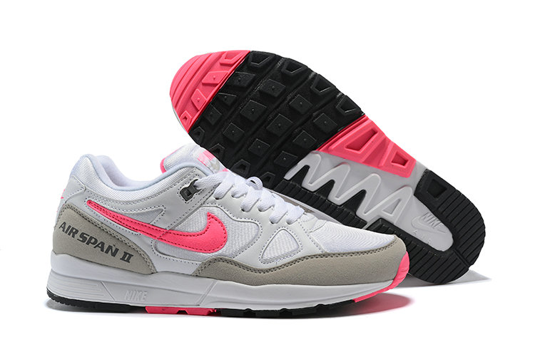 Cheapest Wholesale Nike Air Span II Pink White Black - www.wholesaleflyknit.com