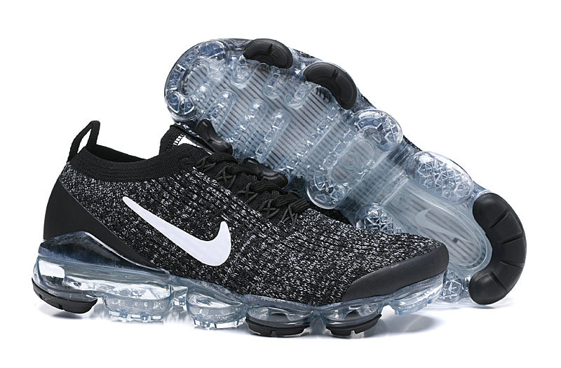 Cheapest Wholesale Nike Air VaporMax 3.0 Black White Grey Noir AJ6900-212 - www.wholesaleflyknit.com